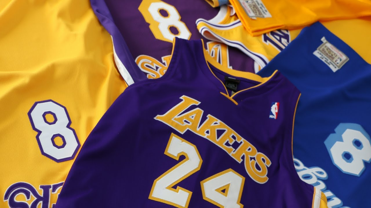 e48cde2286d1 Selling The Kobe Bryant Jersey Collection
