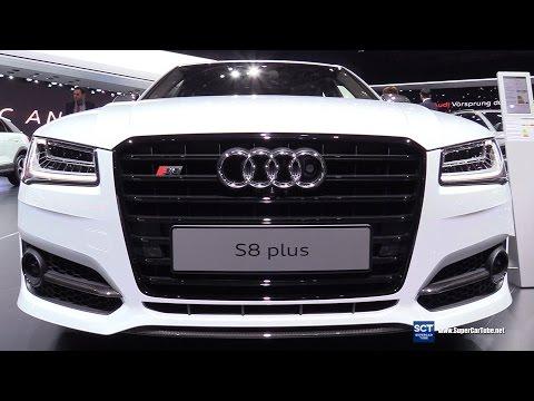 2017 Audi S8 Plus - Exterior and Interior Walkaround - 2017 Geneva Motor Show