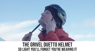The Grivel Duetto Helmet