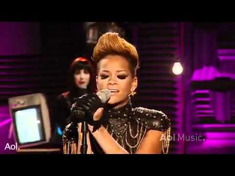 Rihanna   Take A Bow Live AOL Sessions 2010