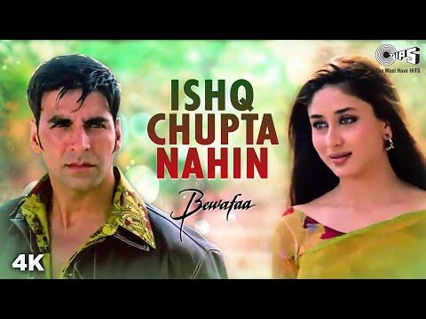 Ishq Chupta Nahi - Video Song | Bewafaa | Akshay Kumar & Kareena Kapoor | Abhijeet
