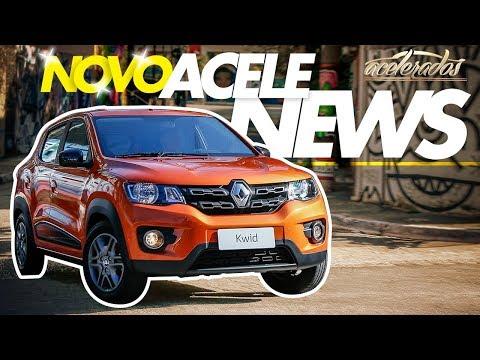 NOVO RENAULT KWID + NOVO VW POLO + NOVO ACELENEWS! - ACELENEWS #88   ACELERADOS