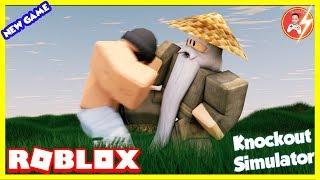Roblox | MrDFLASH Stone Challenge Real far-#Roblox Raining Gems! 👊 Knockout Simulator | Mr. D-Flash