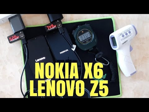 Nokia X6 Lenovo Z5 Battery Charging & Battery Life Video Hindi