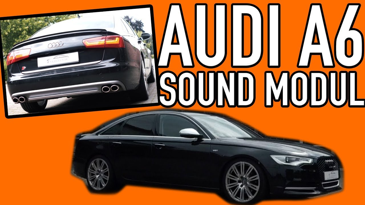 audi a6 4g v8 soundmodul tuning active sound gateway audi