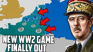 Trying To Save France! on the Best New WW2 Strategy Game Total Tank Simulator