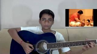 Kyun Aaj Kal Guitar Instrumental - Woh Lamhe