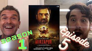 MIRZAPUR | Episode 5 -Bhaukal | Pankaj Tripathi | REACTION!!