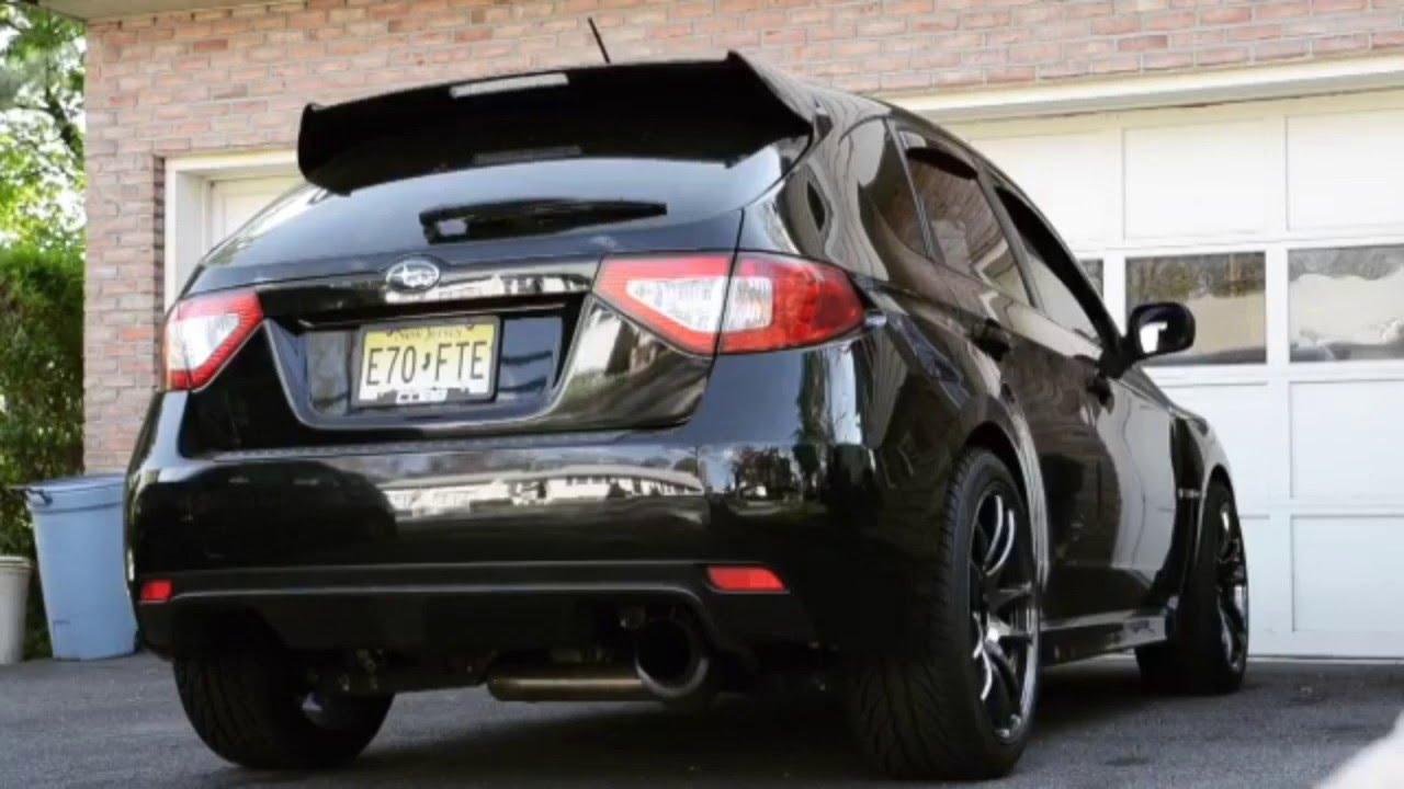 Subaru İmpreza Wrx Sti Hatchback Exhaust Sound Youtube