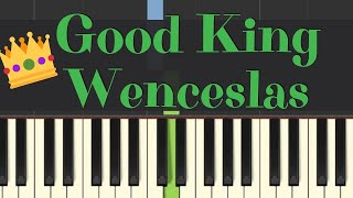 Easy Piano Tutorial: Good King Wenceslas with free sheet music