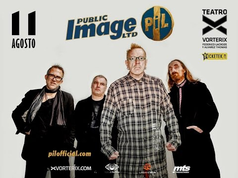 Public Image Ltd. - Teatro Vorterix, Buenos Aires, 2016