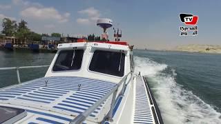 «المصري اليوم» تخوض أول تجربة صحفية فى المجرى الملاحى لقناة السويس منذ التأميم