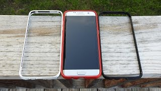 All Aluminum Bumper Case For Galaxy S7 Edge