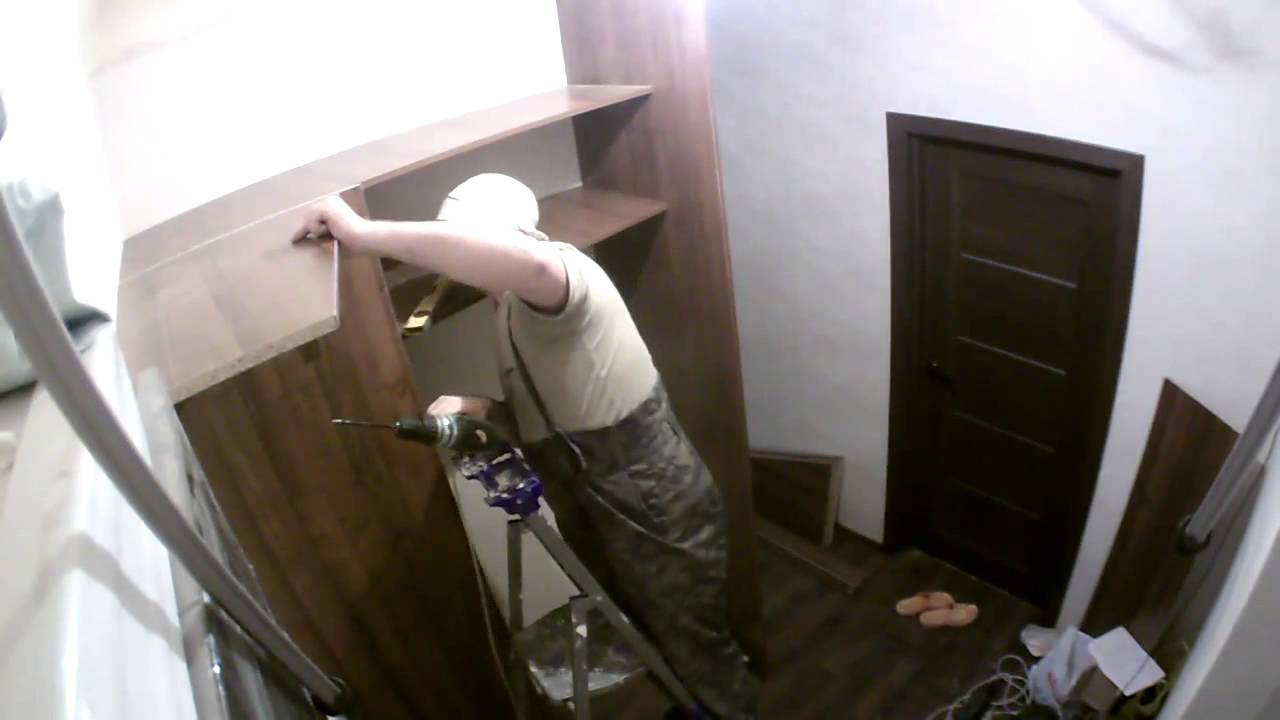 фото шкафы купе угловой