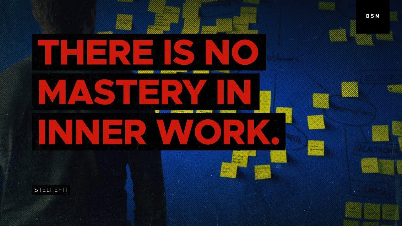 Sales motivation quote: There is no mastery in inner work