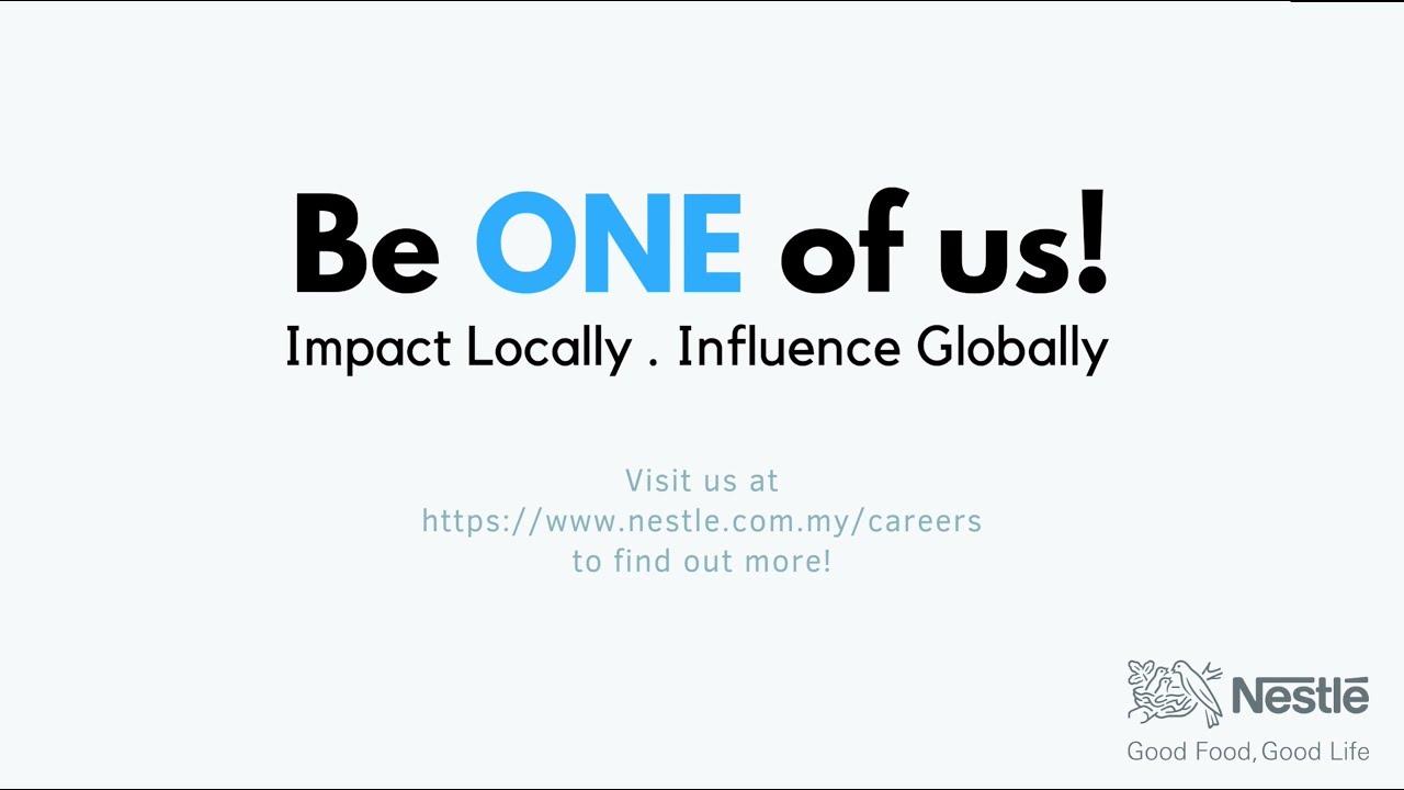 Management Trainee | Nestlé Malaysia