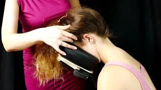 ♥ ASMR Professional Scalp Massage,  Head Scratching, Hair Play Corrina & Kristen