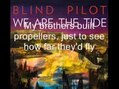 Blind Pilot - Half Moon (Lyrics)
