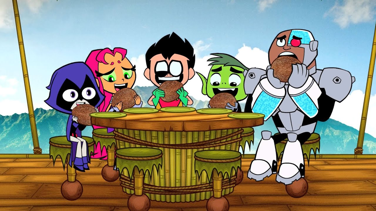 Open Door Policy  (clip #2) - YouTube & Teen Titans Go! -