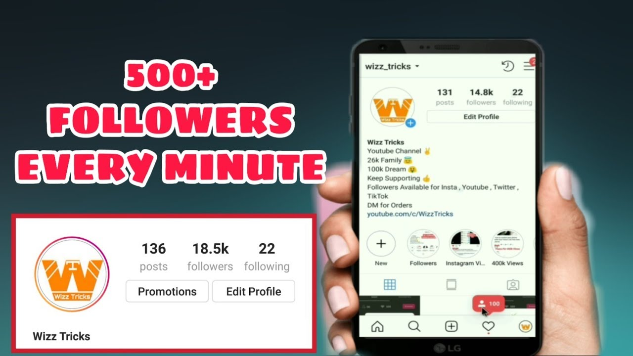 Get 500 Instagram Followers every minute for FREE + 1000 FOLLOWERS GIVEAWAY