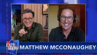 Matthew McConaughey On Whether He'd Run For Governor of Texas