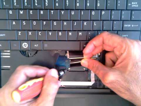 How To Change Keyboard Of Toshiba Satellite C660