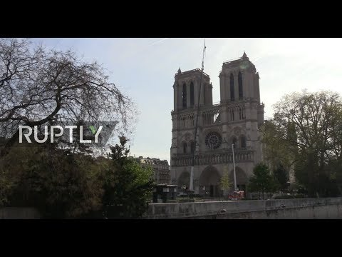 LIVE: Ruptly live from the aftermath of Notre-Dame fire