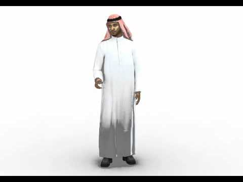 Middle East male 3d model by Rocketbox Libraries #m251 talk