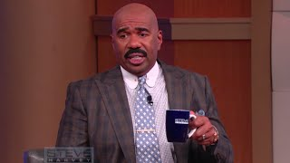 I need a damn break after this one! || STEVE HARVEY