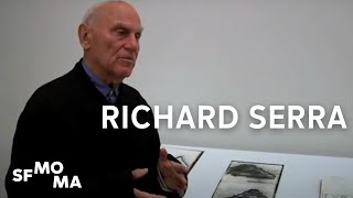 Richard Serra on drawing as visual note-taking