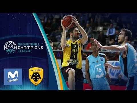 Movistar Estudiantes v AEK - Highlights - Basketball Champions League