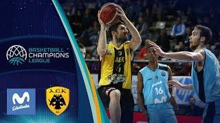 Movistar Estudiantes V AEK - Highlights - Basketball Champions League