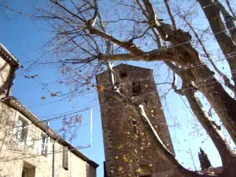 Campanas en Saint-Guilhem-le-Désert DICIEMBRE 2009