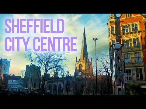 The UK Today - Walking Around Sheffield City Centre...South