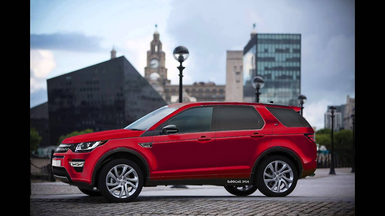 Land Rover Discovery Sport 2015 Renders