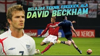 Mempelajari Teknik Tendangan Bebas David Beckham || Bend it Like Beckham