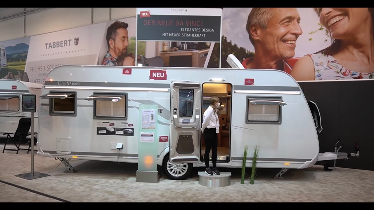 4 echte Zimmer im Wohnwagen 2022 Tabbert Da Vinci 700 KD. Family Camping mit XXL Luxus Kinderzimmer