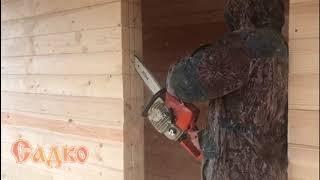 видео Дом из бруса 6x9 с эркером