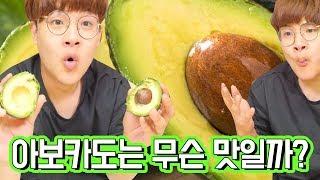 난생 처음으로 열대과일 아보카도를 먹어보았다 ㅋㅋㅋㅋㅋ…