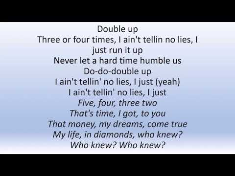 Nipsey Hussle - Double Up Ft. Belly \u0026 Dom Kennedy [Official Lyrics Video]🎶