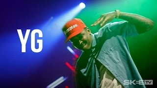 "YG ""Twist My Fingaz"" LIVE From Camp Flog Gnaw"