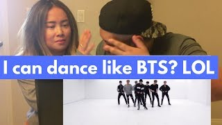 [Kpop] BTS(방탄소년단) '피 땀 눈물 Blood Sweat & Tears' Dance Practice COUPLES REACTION!!!