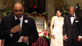 Frisco Wedding at Elevate Life Church for Irving and Michi