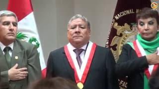 Tema: Ceremonia de Asunción al Cargo de Decano FISI