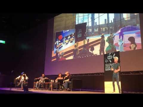 Virtual Philip at SIGGRAPH Asia