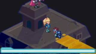 Megaman starforce 2: Queen Ophiuca + Zerker tribe