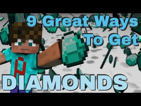9 Different Ways To Find Diamonds in Minecraft: How to Get Diamonds in Java & Bedrock (Avomance)