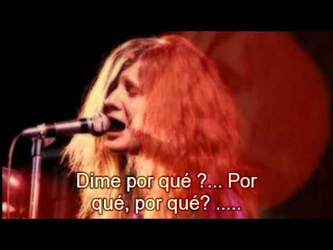 Janis Joplin Ball and Chain subtitulado al español