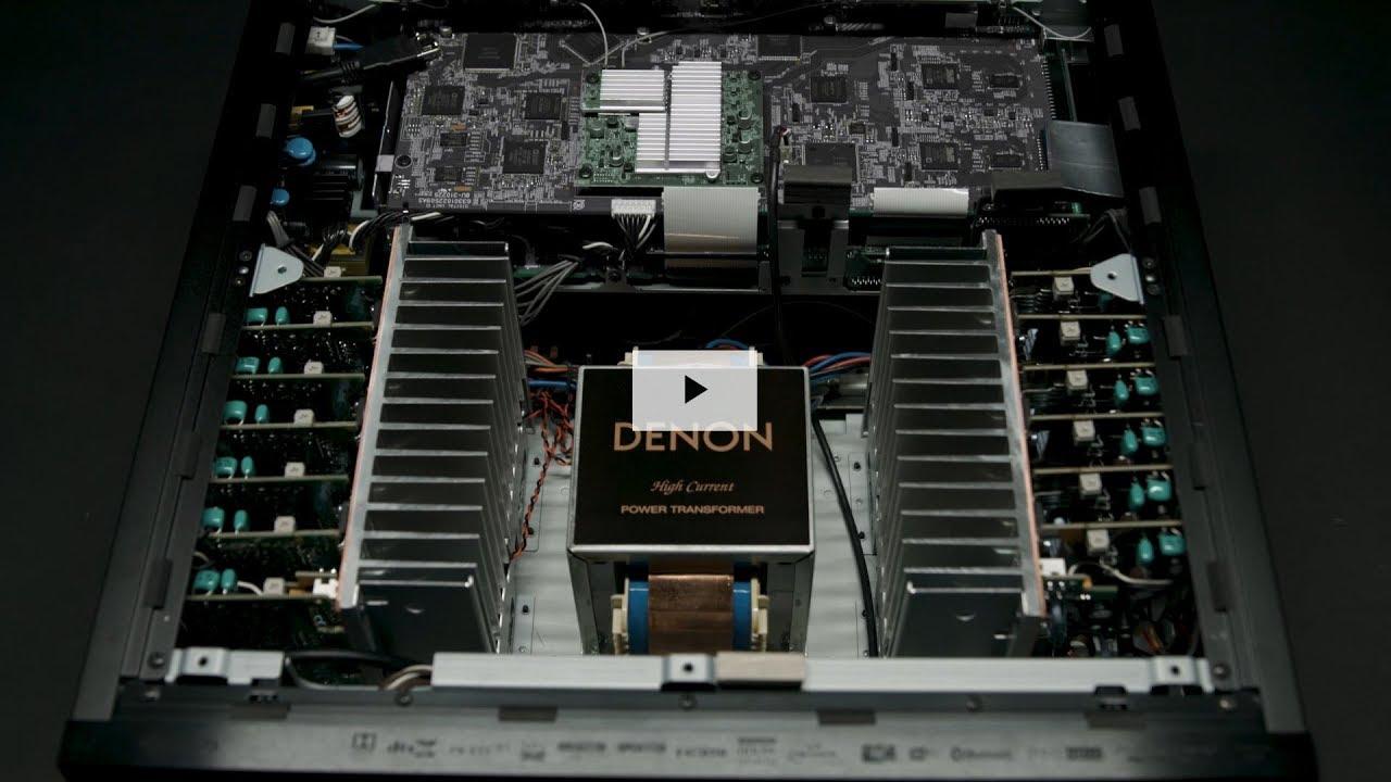 Denon AVR-X8500H World's First 13 2CH AV Receiver Preview