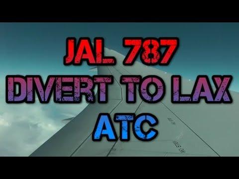 Japan Airlines Flight JL69 Boeing 787  fuel dump return to Los Angeles ATC